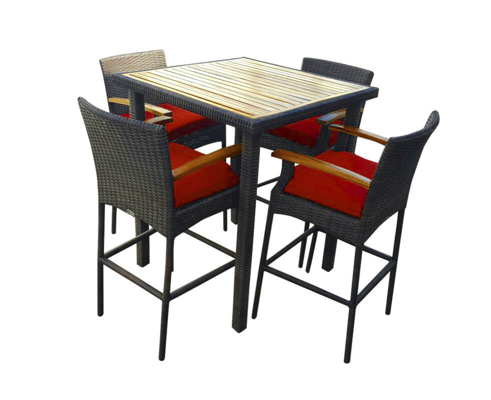 Cancun High Dining Set