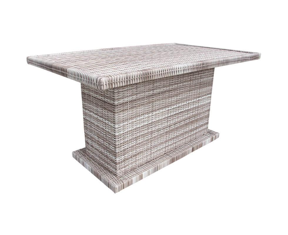 Long Pedestal Table