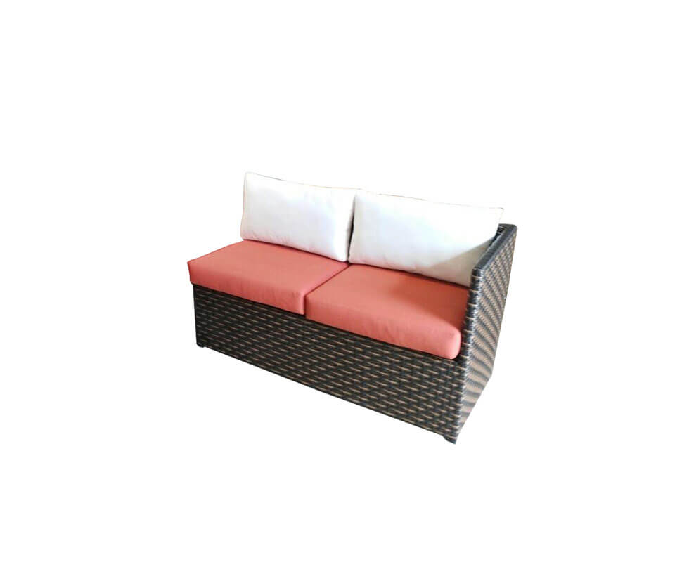 Sectional Loveseat 1 Arm