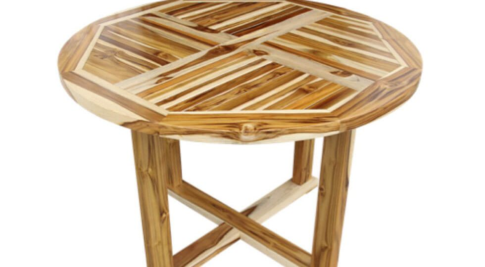 Table (Cross Pattern)