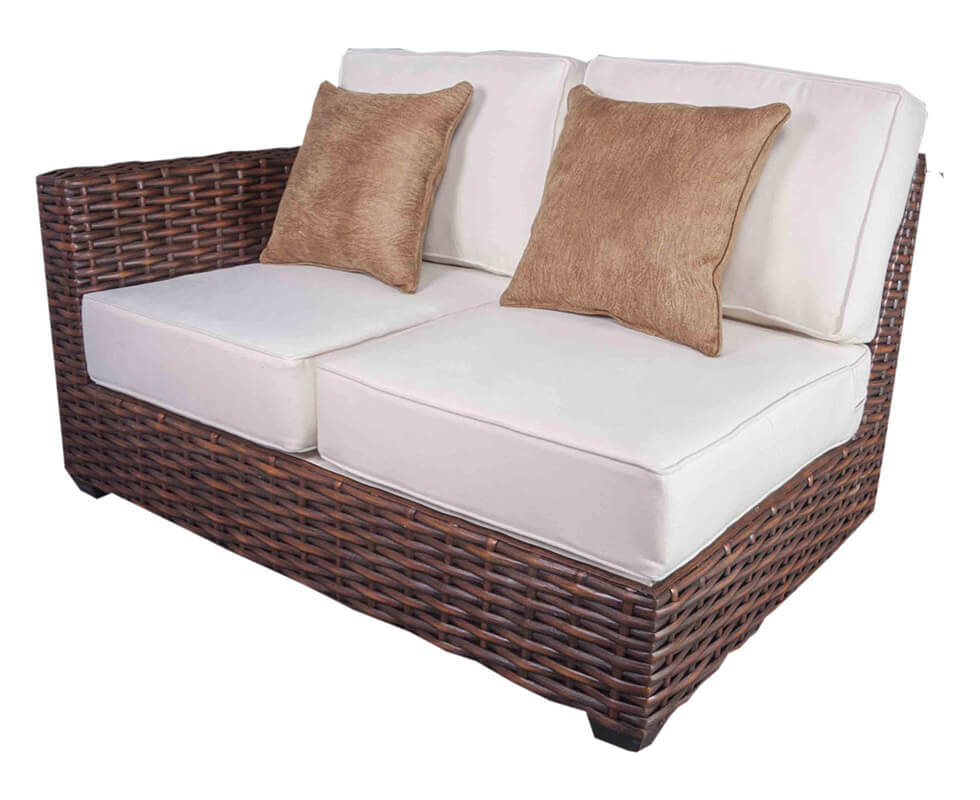 guanaja loveseat sectional 1 arm
