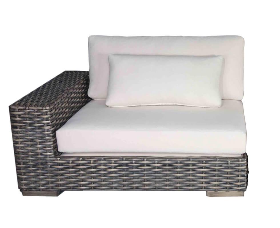 indura lounge chair 1 arm