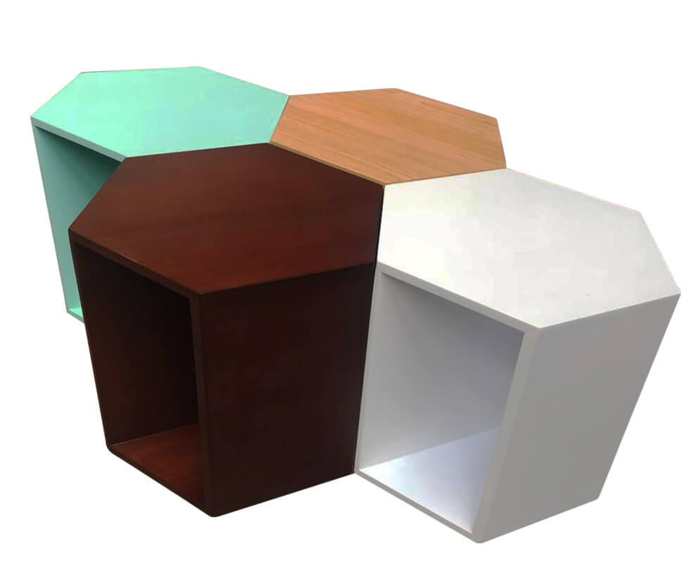 Hexagonal Center Table