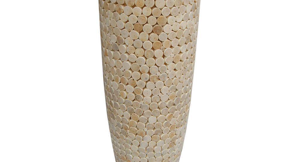 Rattan Head Flower Pot