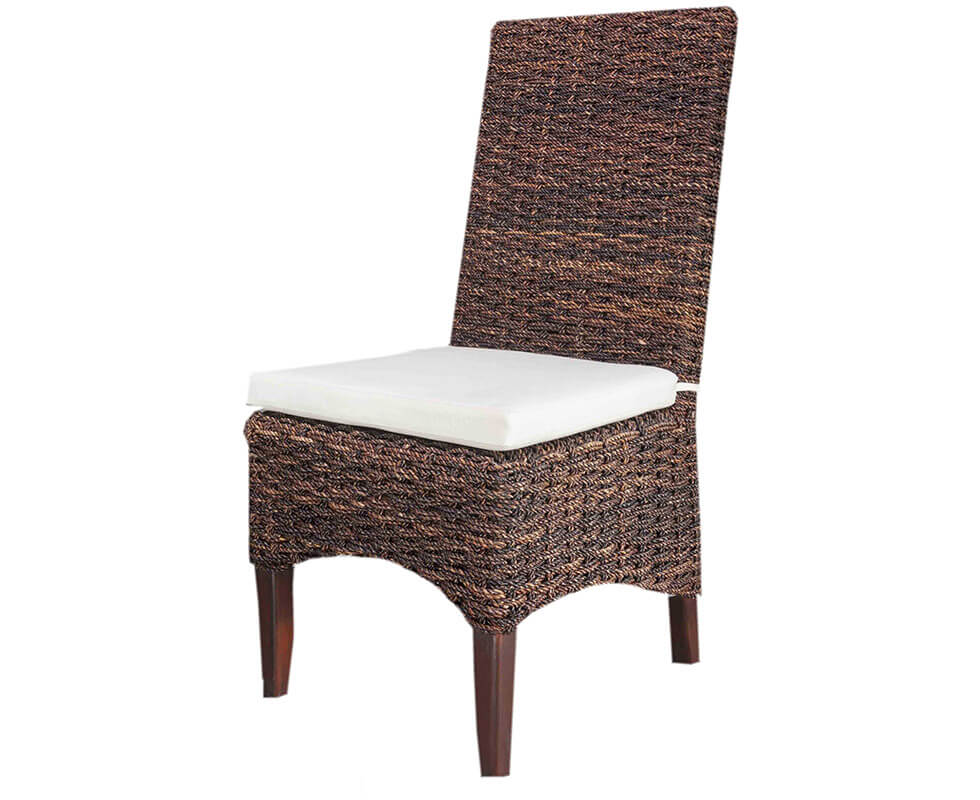 Dark Rope Dining Chair
