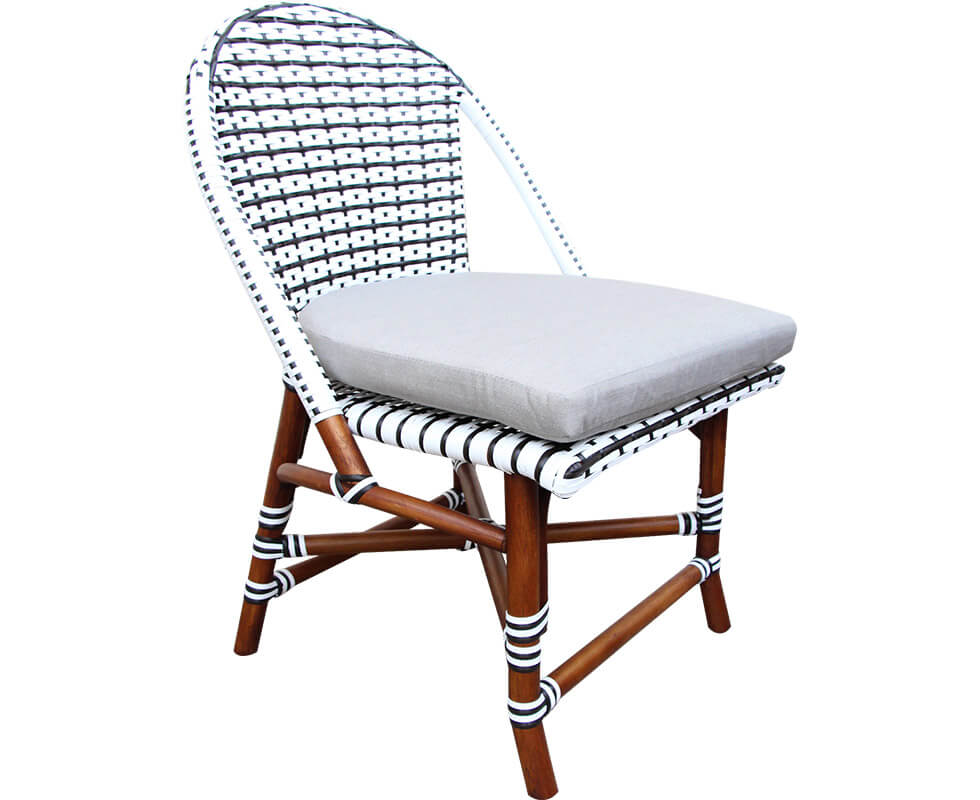 Rattan Bistro Dining Chair