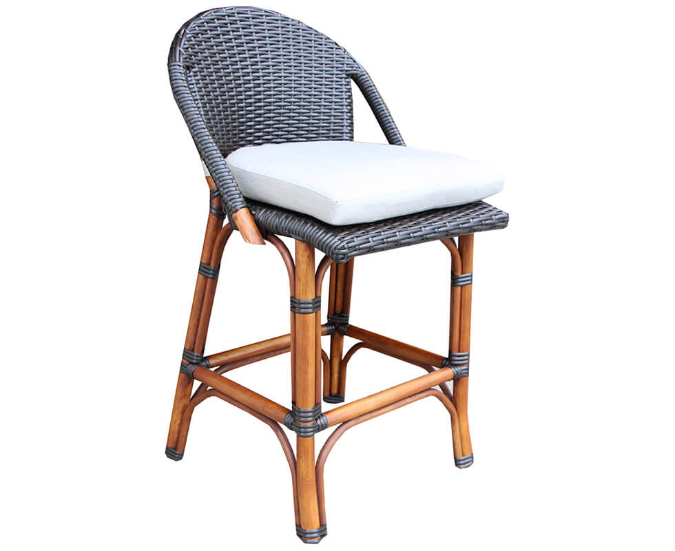 Rattan Bistro Counter Stool