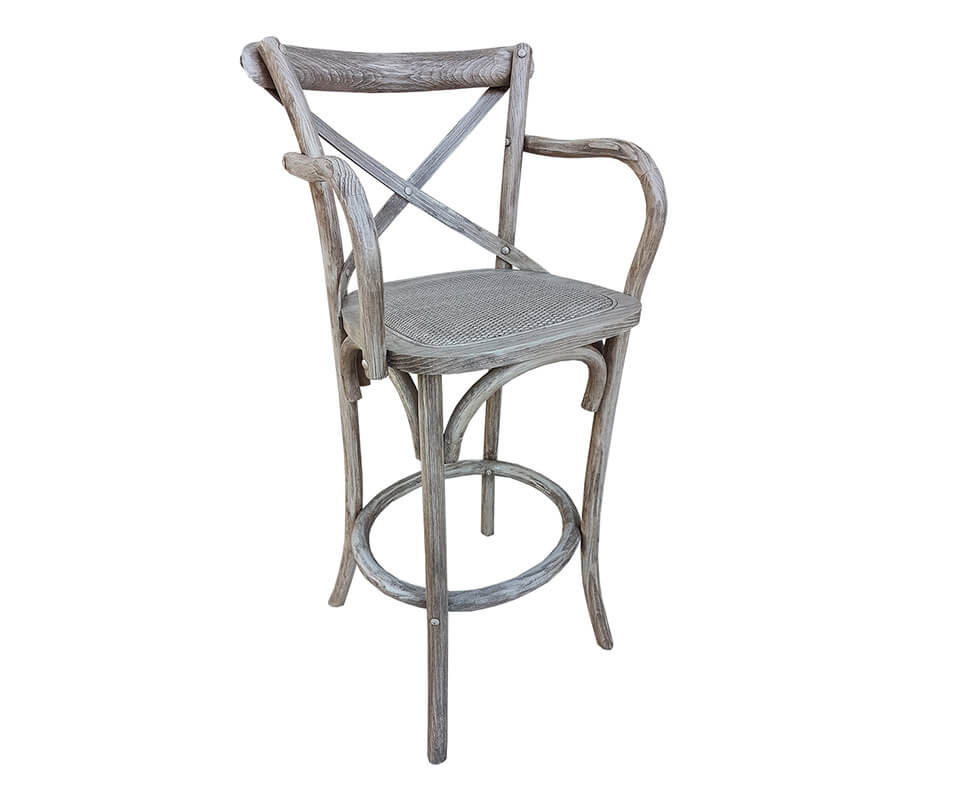 Creek Barstool With Arms