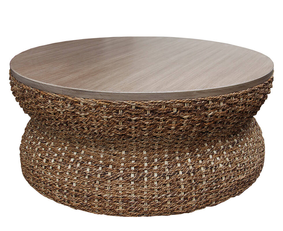 Palm Center Table Natural Rope