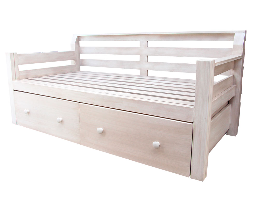 DAYBED W/ ADDITIONAL DRAWERS