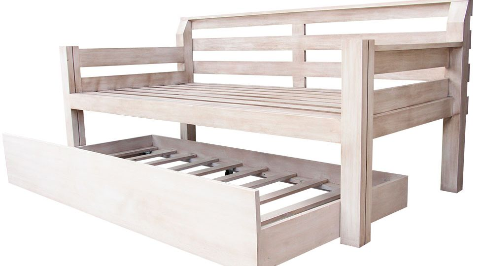 DAYBED W/ADDITIONAL TWIN